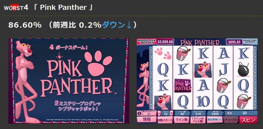 worst4「 Pink Panther 」